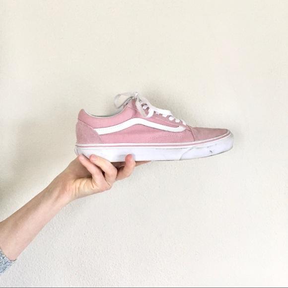 Vans Shoes | Pale Pink Vans Sneaker Old